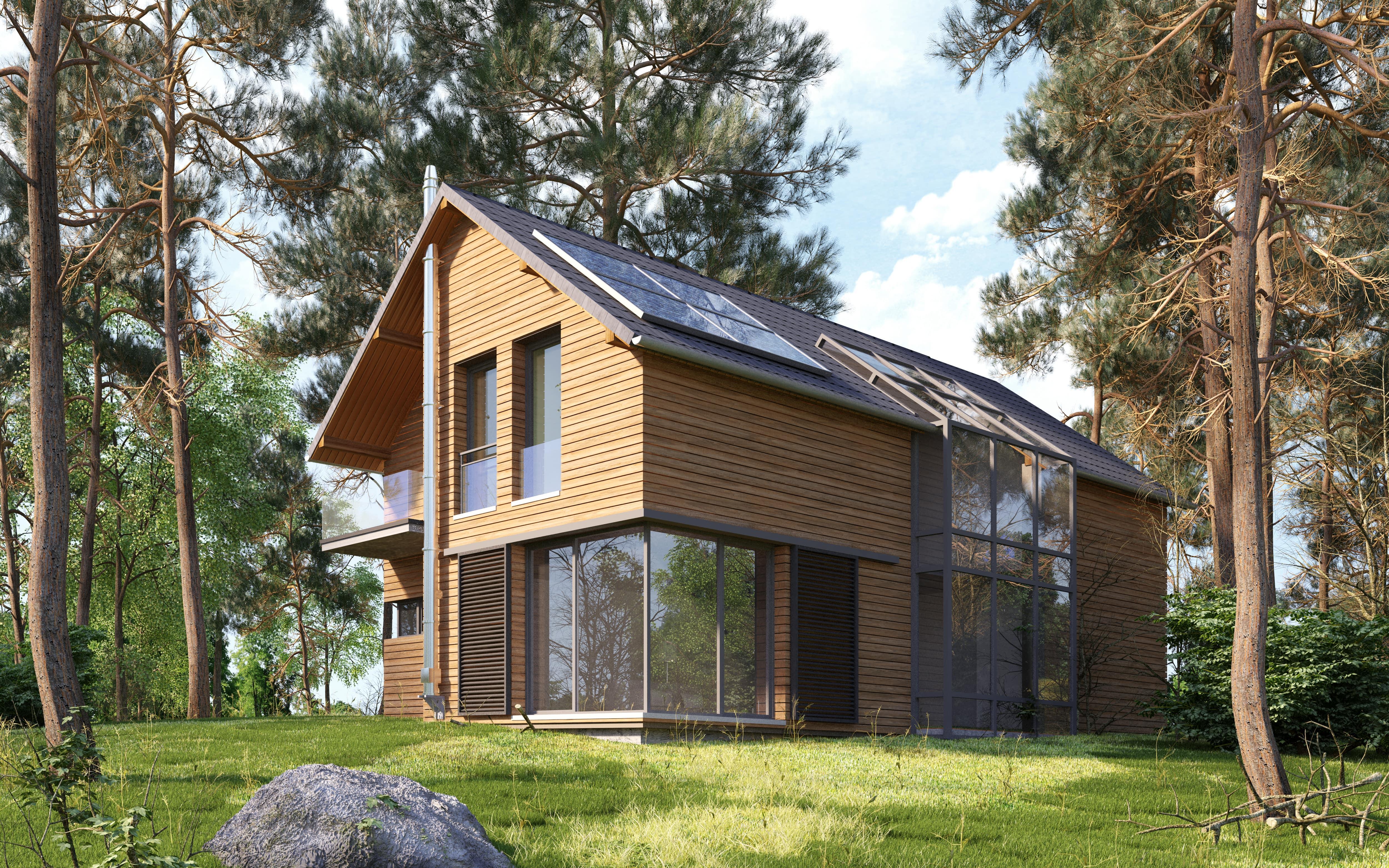Construire maison en bois