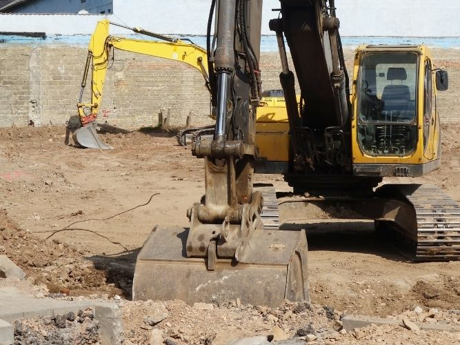 Excavation en construction