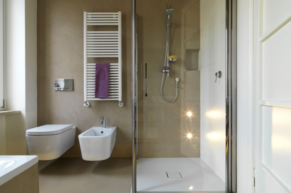 Douche et salle de bain
