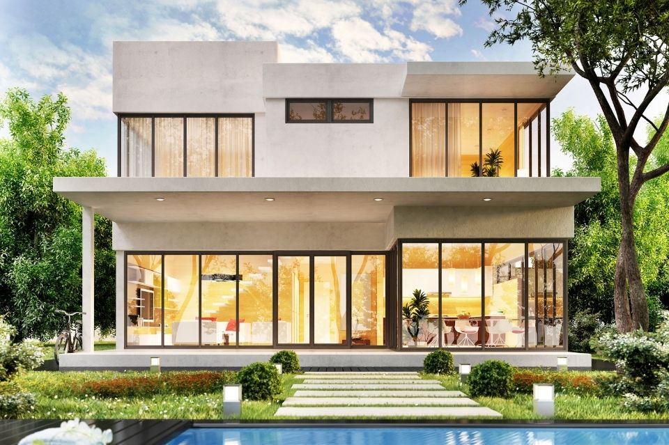 construction de maison de luxe